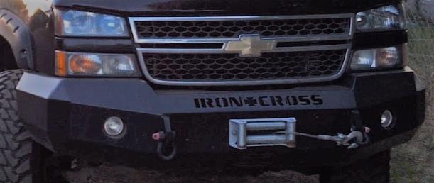 iron cross duramax winch bumper
